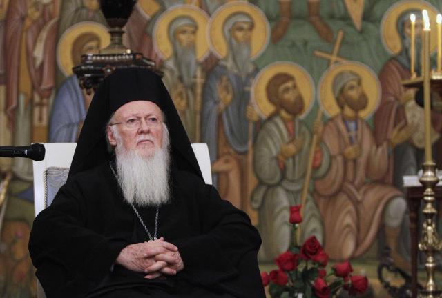 Патриарх грузинской православной церкви Илия II в Москве 2008 г. (архив)