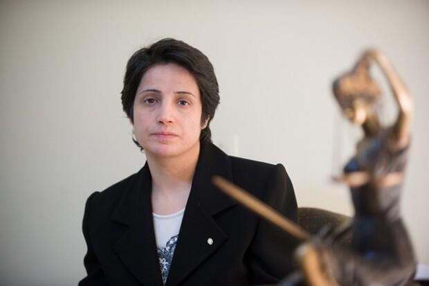 نسرین ستوده، فعال حقوق زنان که حال حاضر در ایران زندانی است