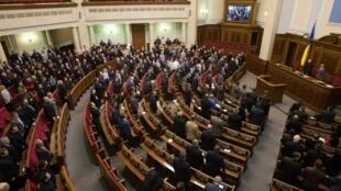 Верховная Рада Украины 23 февраля 2014.