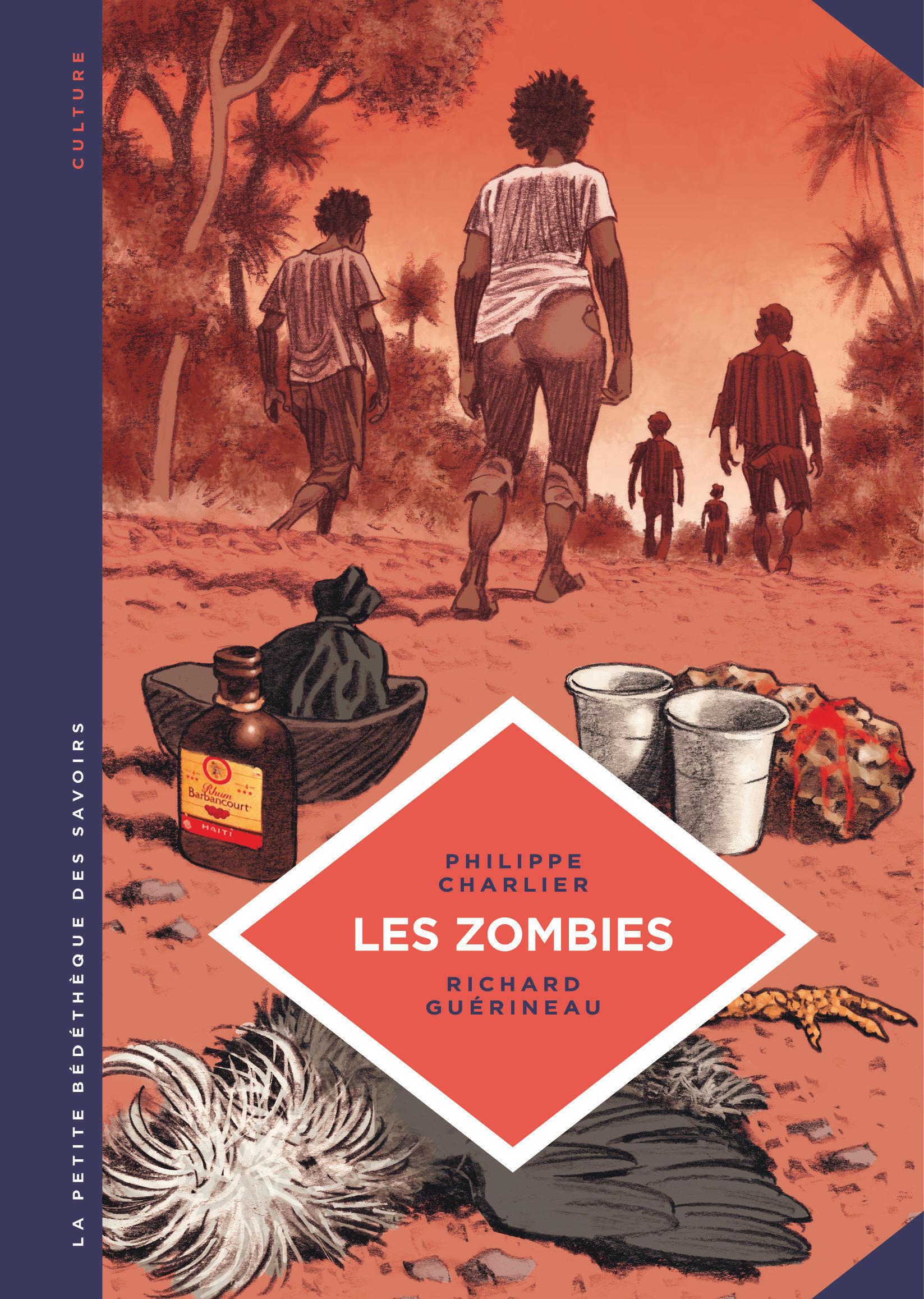 Philippe Charlier a rapporté de son enquête sur les zombis en Haïti le matériau d'une bande dessinée, parue aux éditions Le Lombard.