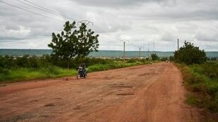 Une route entre Bamako et Kayes.