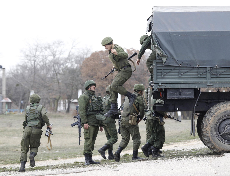 Urusi imeimarisha majeshi yake huko Crimea wakati huu zoezi la kura ya maoni lichukua nafasi