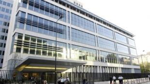 Le siège de la Direction centrale du renseignement intérieur (DCRI), à Levallois-Perret, en banlieue parisienne.