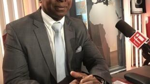 Vicente Fernandes, ministro guineense do comércio, turismo e artesanato, na RFI a 27 de Setembro de 2018.