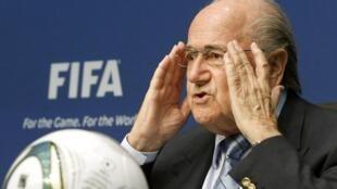 El presidente de la FIFA, Joseph Blatter.