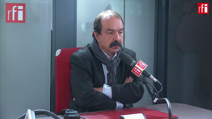 Philippe Martinez sur RFI, le 16 décembre 2019.