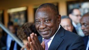 Le vice-président sud-africain Cyril Ramaphosa est l'une des grandes figures de l'ANC.