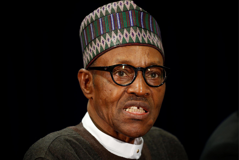 Shugaban Najeriya Muhammadu Buhari.