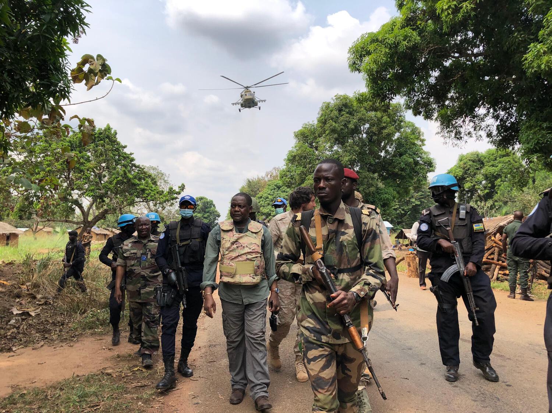 RCA - centrafrique - firmin ngrebada premier ministre - soldat - boali
