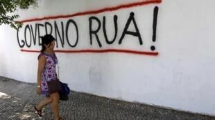 'Gobierno fuera', este 3 de julio en Lisboa.