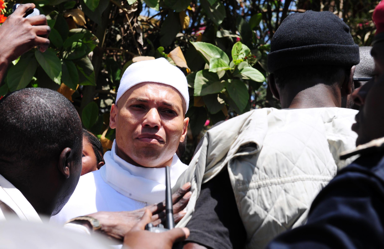 Karim Wade a été libéré suite à une grâce présidentielle, le 24 juin 2016 (photo d'archive).