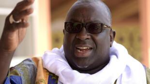 Papa Massata Diack en mars dernier à Dakar.