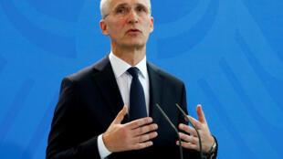 Jens Stoltenberg, le secrétaire général de l'Otan.