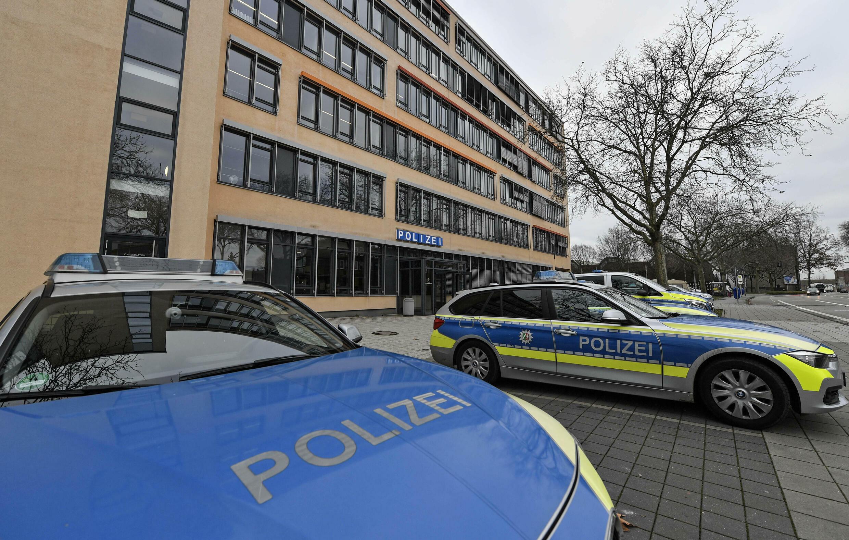 police allemagne voiture