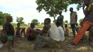 Des fermiers tivs de l'Etat de Benue, Nigeria.
