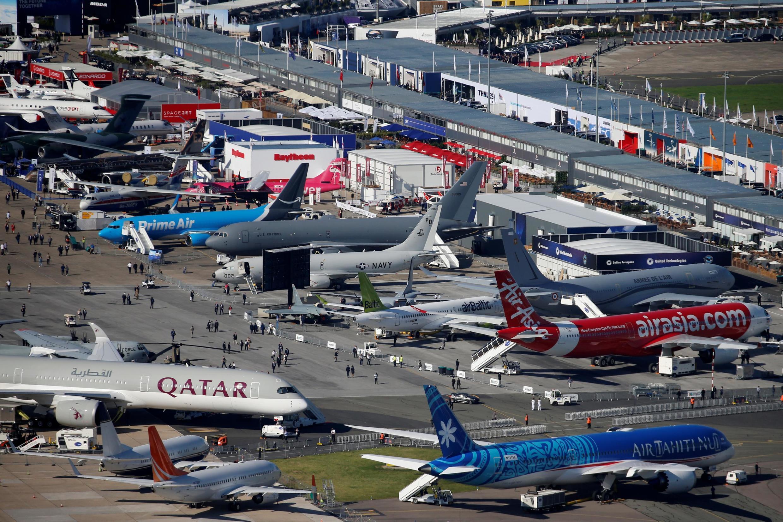 Международный авиасалон в Ле Бурже, 17 июня 2019