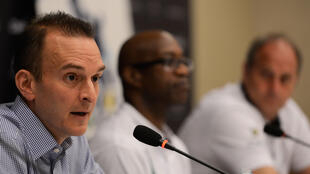 Travis Tygart, le patron de l'agence anti-dopage américaine (Usada) à Rio de Janeiro, le 11 mars 2013.