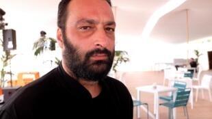 Le réalisateur tunisien Ala Eddine Slim (« Tlamess ») au Festival de Cannes.