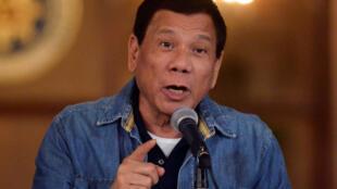 Rodrigo Duterte, presidente das Filipinas