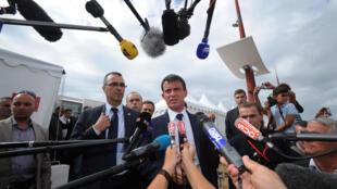 O premiê francês, Manuel Valls.