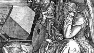 """Gravura """"Melancolia"""", do alemão Albrecht Dürer"""