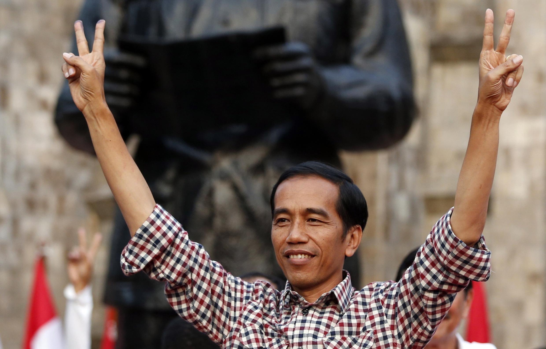 Le nouveau président, Joko Widodo, surnommé Jokowi, a été intronisé le 20 octobre 2014.