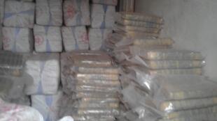 L'Office central des stupéfiants a mis la main sur 2,7 tonnes de cannabis dans un camion en provenance du Ghana, près de Bamako.