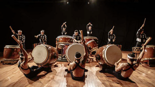Drums from Asia, by the Japanese company Kodo, performing as part of the Paris l'été Summer Festival 2018