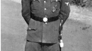 O ex-comandante nazista da SS Erich Priebke