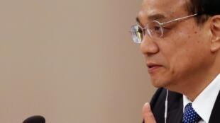 Le Premier ministre chinois Li Keqiang s'exprime au sommet de l'Asean, à Naypyidaw le 13 novembre.