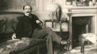 Edmond Rostand (1868 - 1918).