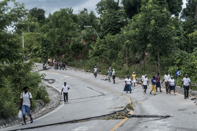 Après le séisme du 14 août 2021 en Haïti