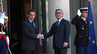 Париж, 28 сентября 2011 (Фото предоставлено посольством Франции в Армении)