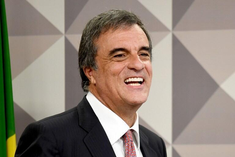 Jose Eduardo Cardozo, avocat de Dilma Rousseff, au Sénat brésilien, le 6 juillet 2016.