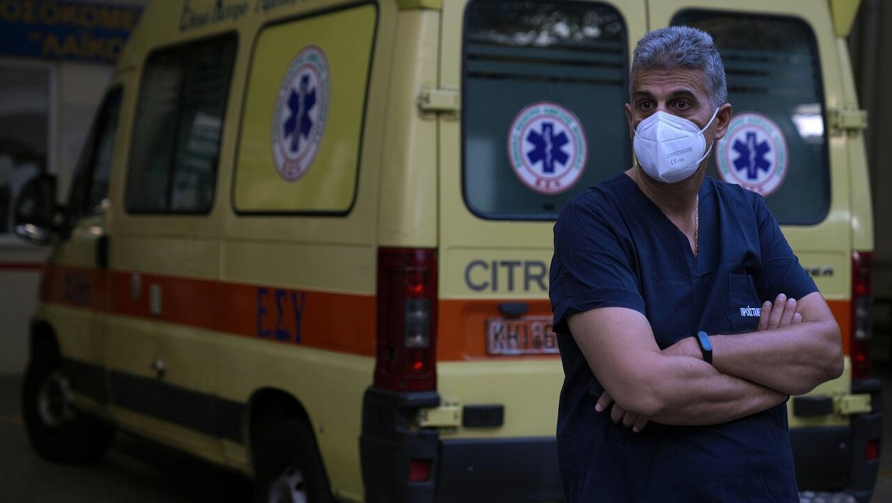 PHOTO Professionnel santé Grèce - 1er septembre 2021