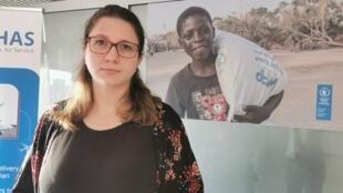 Denise Della Valla, oficial de comunicação no PAM em Moçambique.