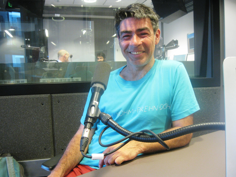 Ernesto Ballesteros en RFI.