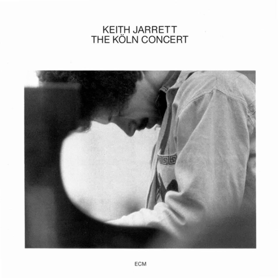 Tapa del disco 'The Köln Concert', Keith Jarrett, ECM.