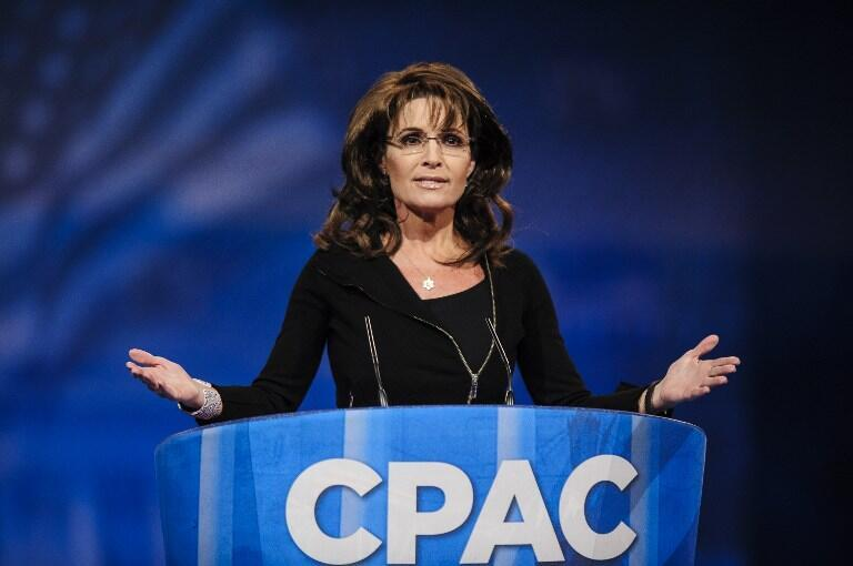 La republicana Sarah Palin se ha convertido en una figura importante del Tea Party.
