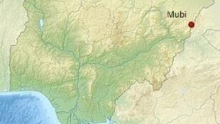 Mubi, Nigeria, en la frontera con Camerún.
