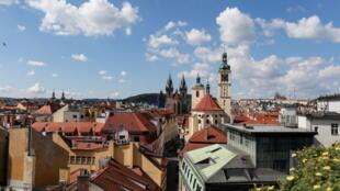 Vue d'une partie du centre historique de Prague, le 4 septembre 2017 (Image d'illustration).