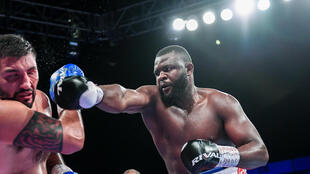 Le boxeur congolais Martin Bakole.