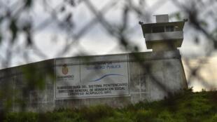 La prison de Las Cruces à Acapulco, dans l'Etat de Guerrero.
