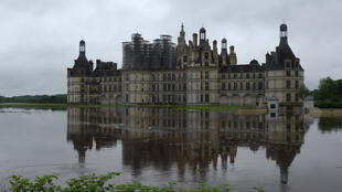 The Château de Chambord, but not the part where the president stayed on his birthday weekend