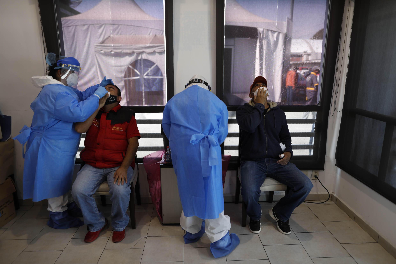 Coronavirus test Covid-19 Mexique Mexico