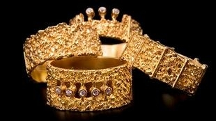 Una de las creaciones de Apostolos. Oro y diamantes. Bijorhca, enero 2017.