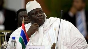 Yahya Jammeh, le 27 september 2009.