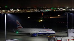 Aviões tiveram que esperar liberação do espaço aéreo para decolar no aeroporto de Heathrow