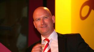 Paul Nuttall, leader de l'Ukip et candidat dans la circonscription de Stroke-on-Trent en Angleterre.