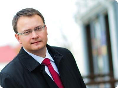 Алесь Михалевич. Фото с сайта президентской компании.